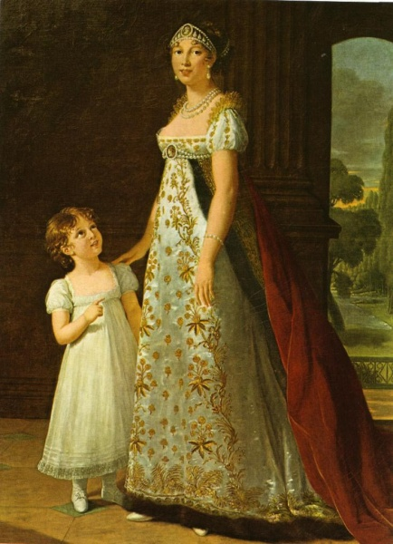 Caroline with daughter by Élisabeth Vigée-Lebrun