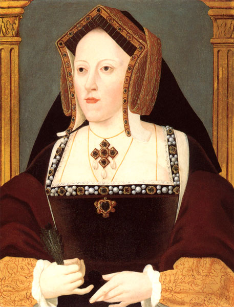 Catherine of Aragon by Lucas Hornebolte