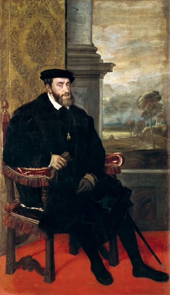 Charles V by Titian
