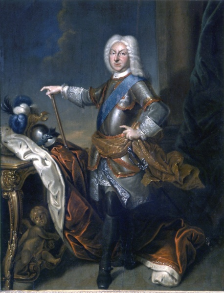 Duke Friedrich II of Saxe-Gotha-Altenburg by Christian Schilbach