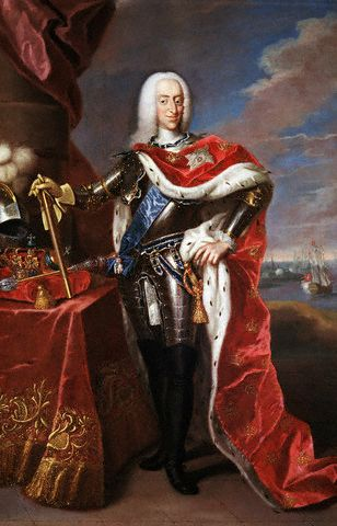 Christian VI by Johann Salomon Wahl