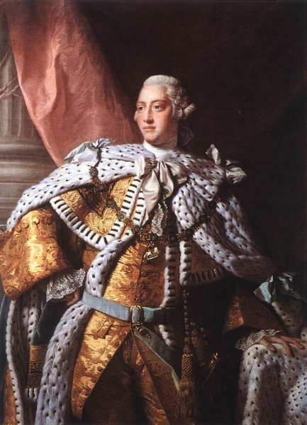 George III by Allan Ramsay