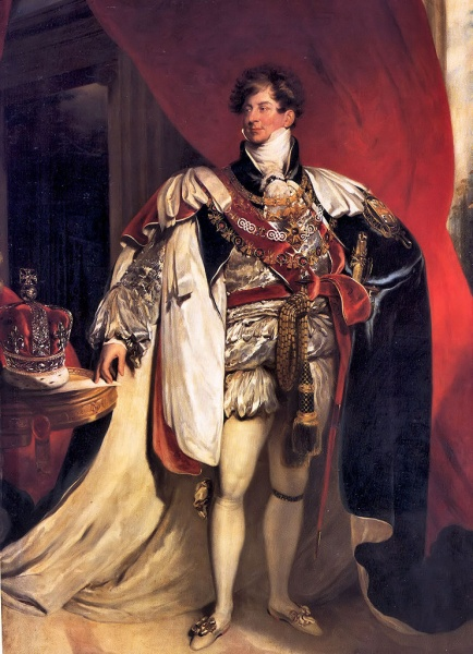 George IV by Sir Thomas Lawrence