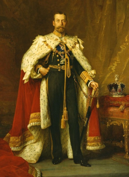 George V by Sir Luke Fildes