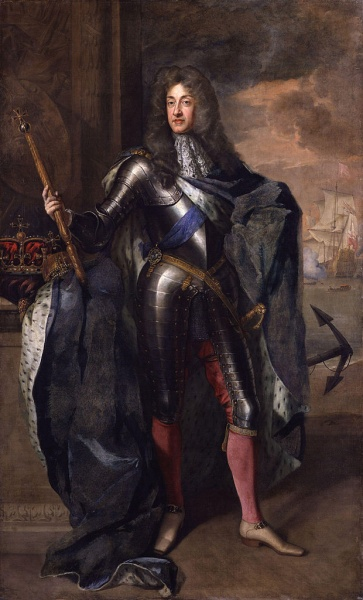 James II by Godfrey Kneller