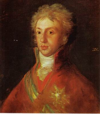 Louis I by Francisco de Goya