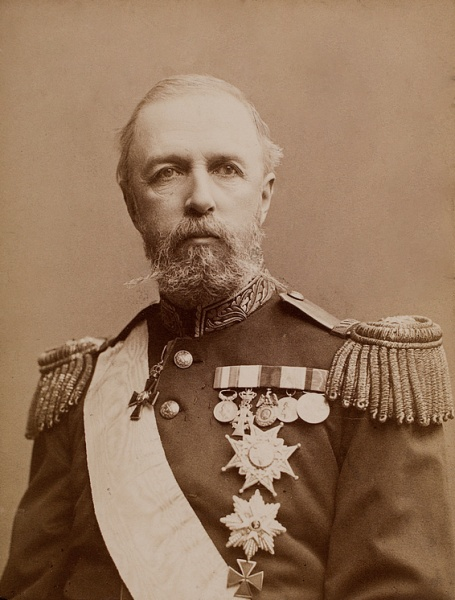 Oscar II of Sweden by Gosta Florman