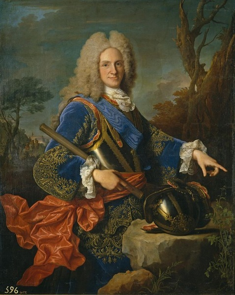 Philip V by Jean Ranc