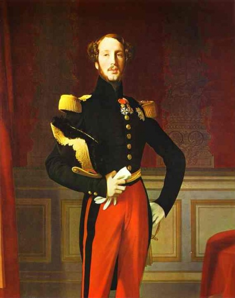 Ferdinand Philippe by Jean Auguste Dominique Ingres