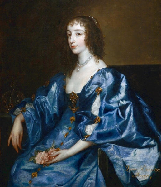 Henrietta Maria by Anthony van Dyck