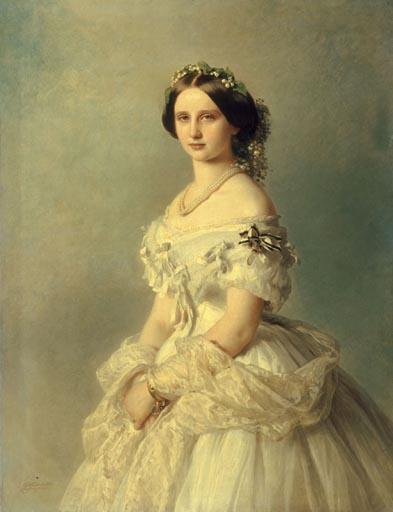 Princess Louise by Franz Xavier Winterhalter