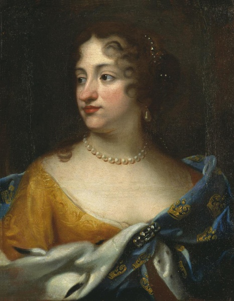 Ulrika Eleonora attributed to Jacques D'Agar