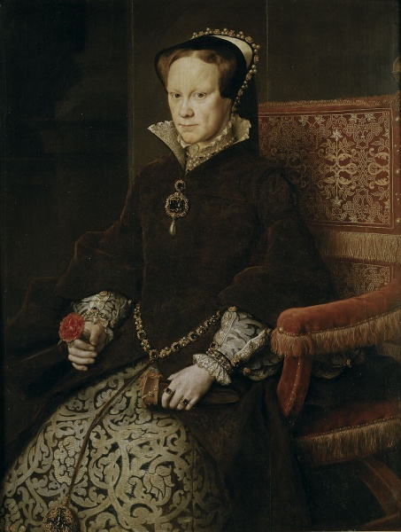 Queen Mary I of England by Antonis Mor